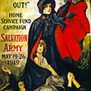 A Man May Be Down . . .   1919 Art Print