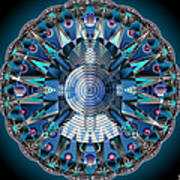 A Mandala Abstract Art Print