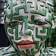 A Maze Ing Man 3 Art Print