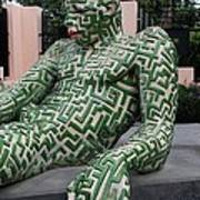 A Maze Ing Man 5 Art Print