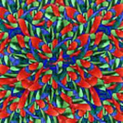 A Maze Of Nature Art Print