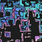 A Maze Zing - 01c01 Art Print