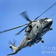 A Merlin Helicopter Art Print