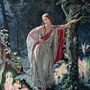 A Midsummer Nights Dream Hermia Art Print