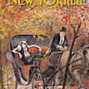 New Yorker October 5th, 1992 Art Print