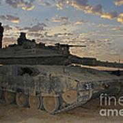 A Morning Prayer On An Israel Defense Art Print