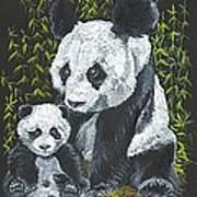 A Mothers Devotion Art Print