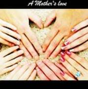 A Mother's Love Art Print by Michelle Frizzell-Thompson