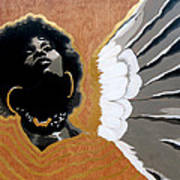 A Natural Angel Art Print