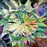 A New Sun Flower Print by Mindy Newman