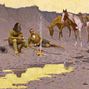 A New Year On The Cimarron Art Print