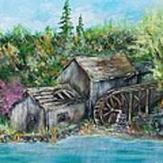 A Old Mill Art Print