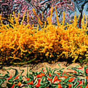 A Painting Springtime 2 Dali-style Art Print