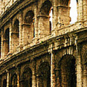 A Painting The Colosseum Art Print