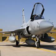 A Pakistan Air Force Jf-17 Thunder Art Print