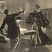 A Parisien Drama, Illustration From Le Art Print