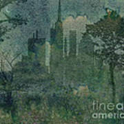 A Park In The City Art Print