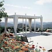 A Pavilion In The Backyard Of Bruce Macintosh's Art Print