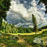 A Peacful Yosemite Day Art Print