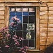 A Peek Through The Window Art Print