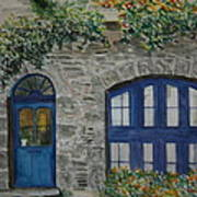 A Picturesque Corner Of France Art Print