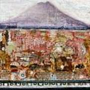 A Piece Of The Mountain Art Print