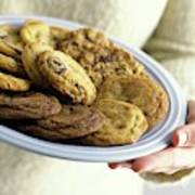 A Plate Of Cookies Art Print