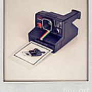 A Polaroid Of A Polaroid Taking A Polaroid Of A Polaroid Taking A Polaroid Of A Polaroid Taking A .. Art Print