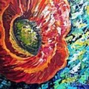 A Poppy Takes Center Stage Art Print