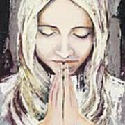 A Prayer... Art Print