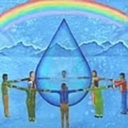 A Prayer For Water Art Print