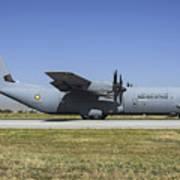 A Qatar Emiri Air Force C-130j-30 Art Print