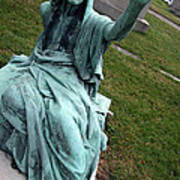 A Raised Hand -- Thomas Trueman Gaff Memorial -- 2 Art Print