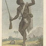 A Rebel Negro Art Print