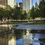 A Reflection Of Chicago Art Print