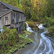A River Flows Through It Art Print