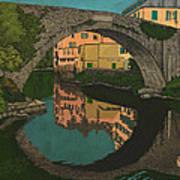 A River Art Print