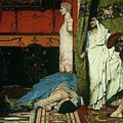 A Roman Emperor   Claudius Art Print by Sir Lawrence Alma Tadema