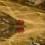 A Rose Bud Stream Art Print