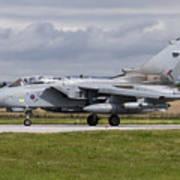 A Royal Air Force Tornado Gr4 Preparing Art Print