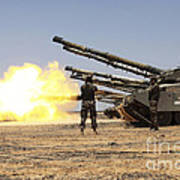 A Royal Jordanian Land Force Challenger Art Print