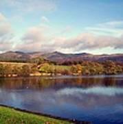 A Scottish View Art Print