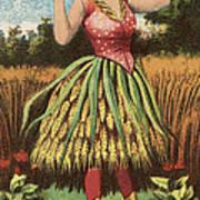 A Shweat Girl Art Print