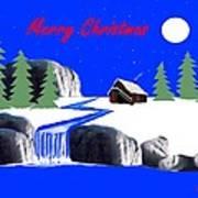 A Simple Christmas Art Print