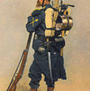 A Soldier IInfanterie Art Print