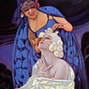 A Spanish Hairdresser Art Print