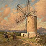 A Spanish Mill Art Print