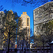A Spring Day At Rittenhouse Square Art Print