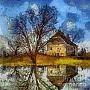 A Spring Flood Art Print