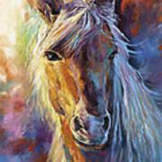 A Stallion Art Print